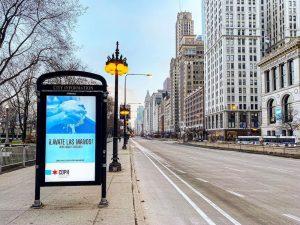 empty chicago during quarantine