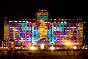 The Remarkable Visual Spectacle Art On The Mart Will Return To Chicago Riverwalk This November Secret Chicago